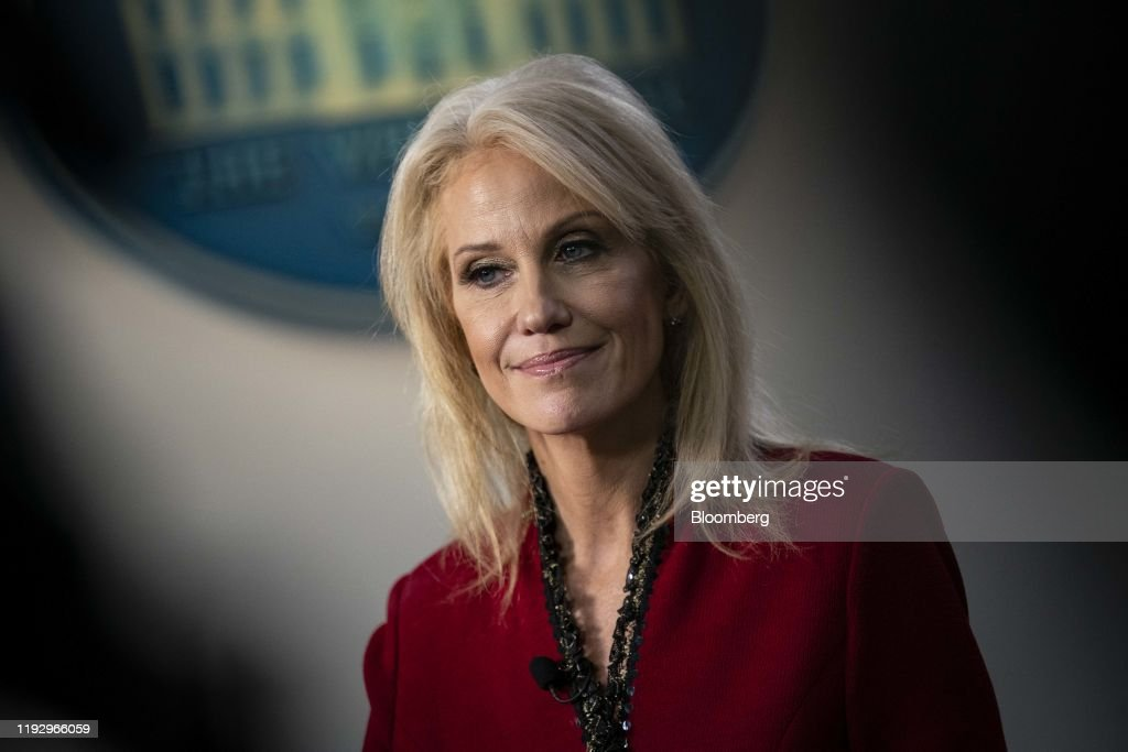 White House Adviser Kellyanne Conway Addresses Media : News Photo