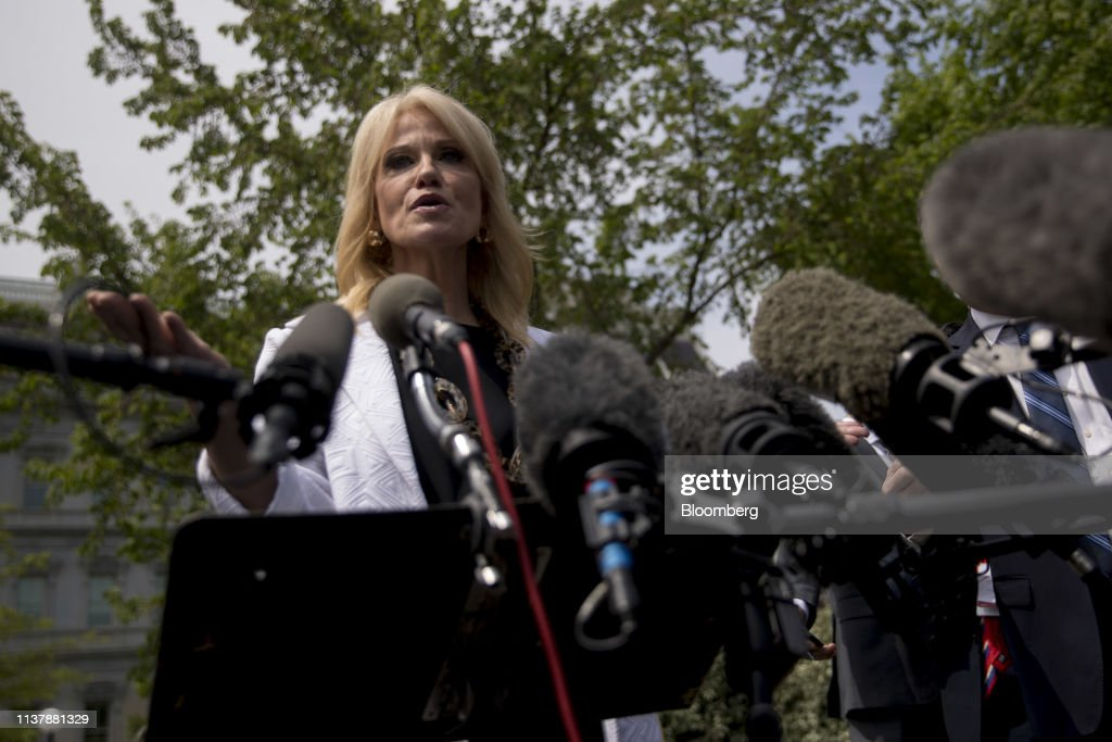 DC: Senior Advisor Kellyanne Conway Addresses Media After Mueller Report