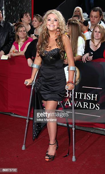 KellyMarie Stewart attends the British Soap Awards at BBC Television Centre on May 9 2009 in London England