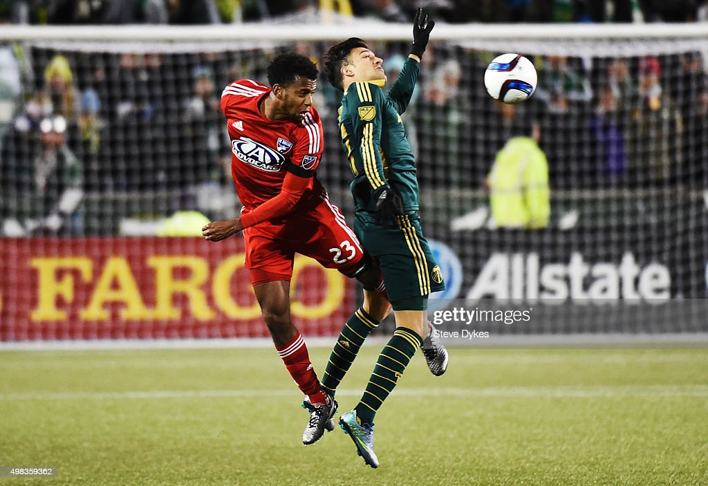 FC Dallas v Portland Timbers - Western Conference Finals - Leg 1 : News Photo