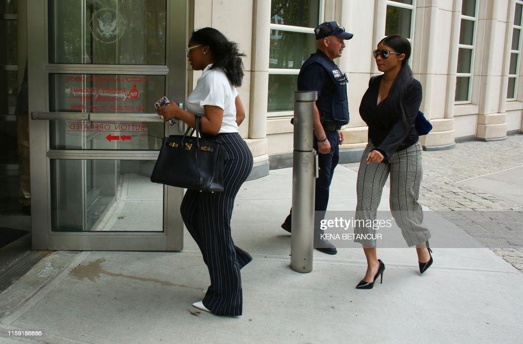 US-music-Entertainment-court-crime : News Photo