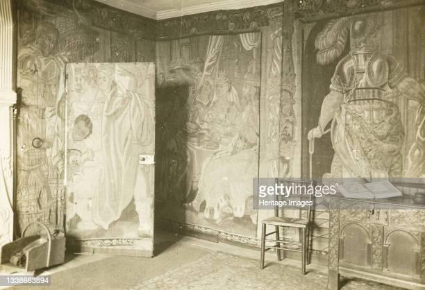 In the Tapestry Room, 1896. Lantern slide. Artist Frederick Henry Evans.
