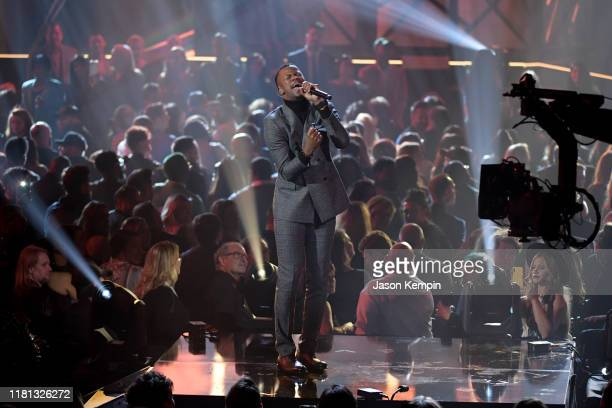 Kelontae Gavin performs at the 50th Annual GMA Dove Awards on October 15, 2019 in Nashville, Tennessee.