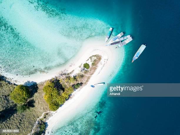 kelor island, east nusa tenggara, indonesia - komodo island stock photos and pictures
