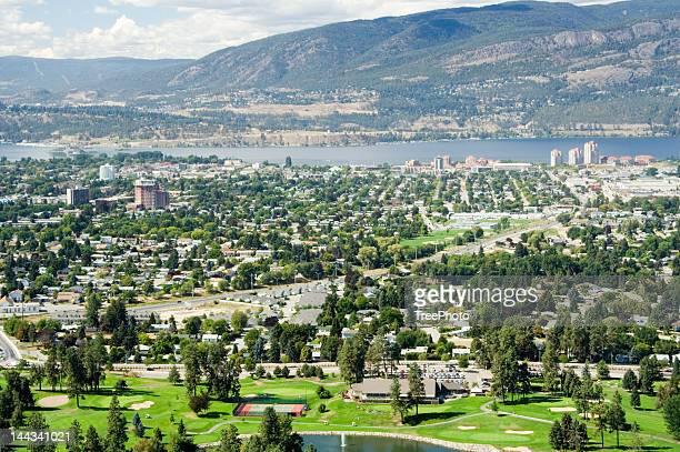 Kelowna, BC (Aerial)