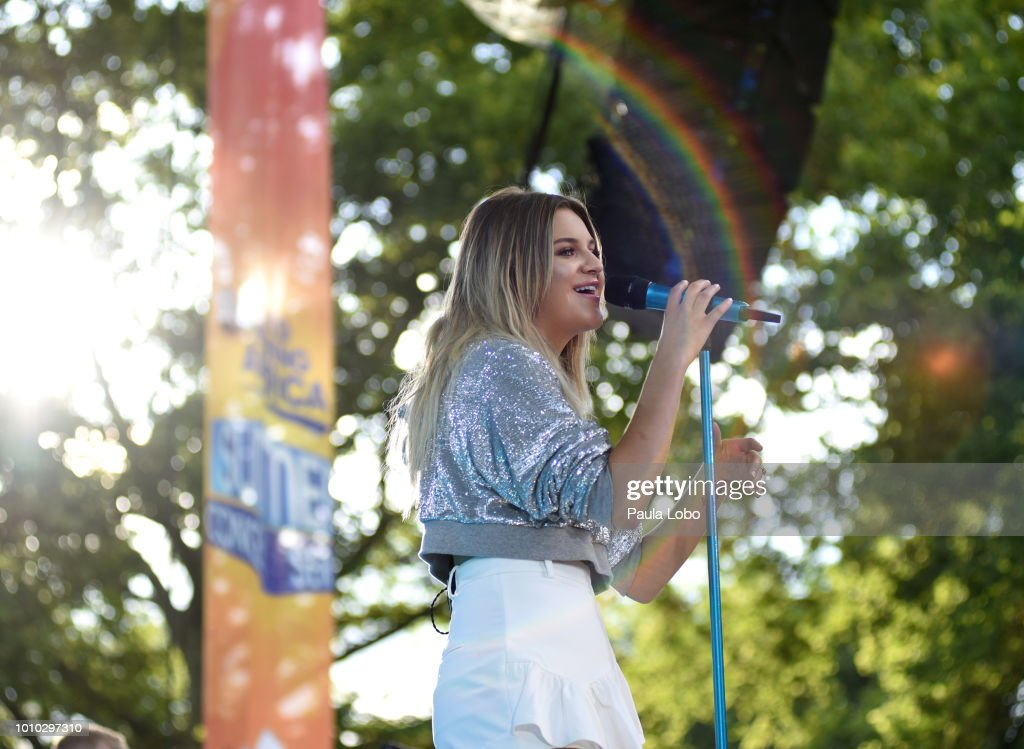 AMERICA - Kelsea Ballerina performs live from Central Park on 'Good Morning America,' as part of the GMA Summer Concert series on Friday, August 3, 2018 airing on the ABC Television Network. GMA18 KELSEA