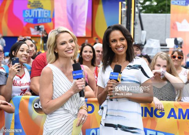 AMERICA Kelsea Ballerina performs live from Central Park on 'Good Morning America' as part of the GMA Summer Concert series on Friday August 3 2018...