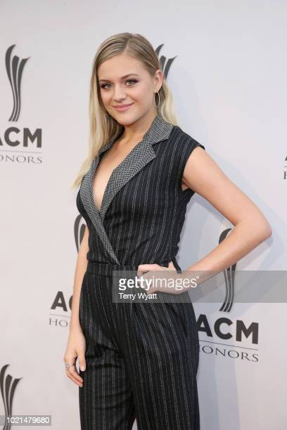 Kelsea Ballerini attends the 12th Annual ACM Honors at Ryman Auditorium on August 22 2018 in Nashville Tennessee