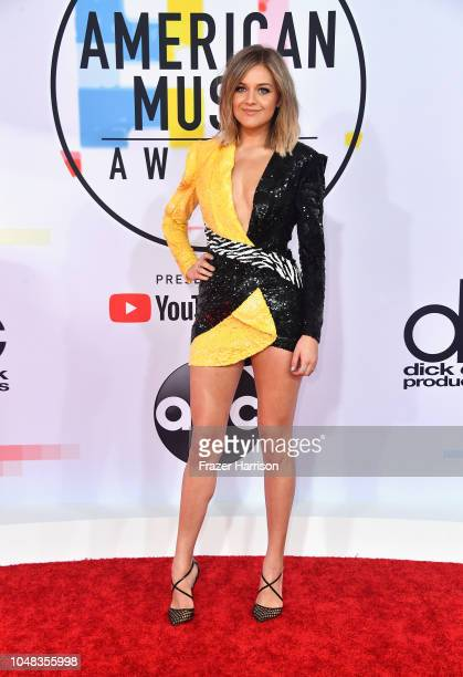 Kelsea Ballerini attends the 2018 American Music Awards at Microsoft Theater on October 9 2018 in Los Angeles California