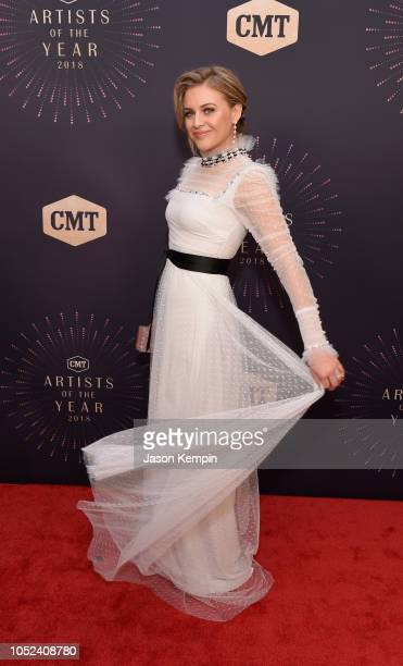 Kelsea Ballerini attends the 2018 CMT Artists of The Year at Schermerhorn Symphony Center on October 17 2018 in Nashville Tennessee