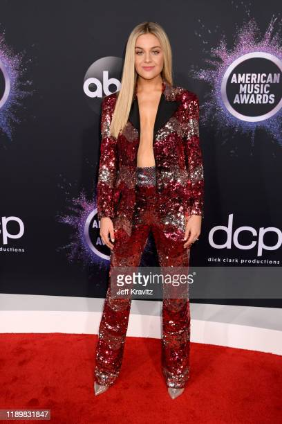 Kelsea Ballerini attends the 2019 American Music Awards at Microsoft Theater on November 24 2019 in Los Angeles California