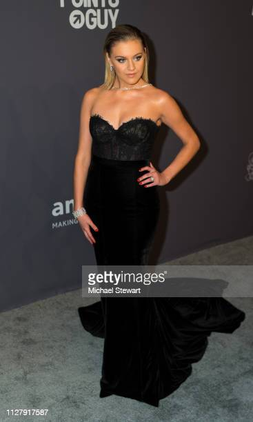 Kelsea Ballerini attends the 2019 amfAR New York Gala at Cipriani Wall Street on February 06 2019 in New York City