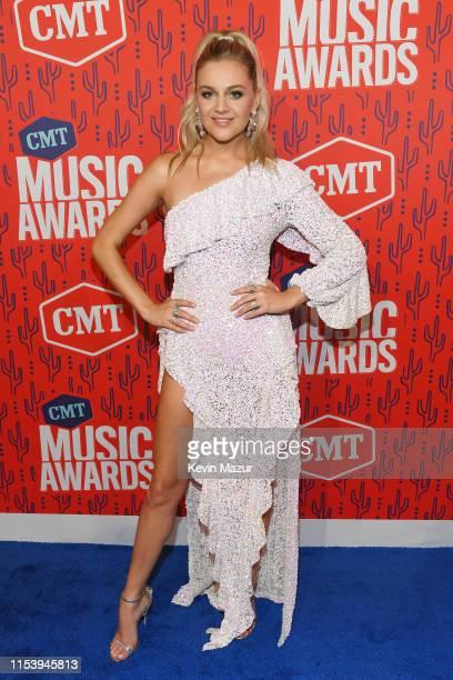 Kelsea Ballerini attends the 2019 CMT Music Award at Bridgestone Arena on June 05 2019 in Nashville Tennessee