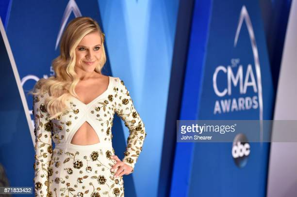 Kelsea Ballerini attends the 51st annual CMA Awards at the Bridgestone Arena on November 8 2017 in Nashville Tennessee