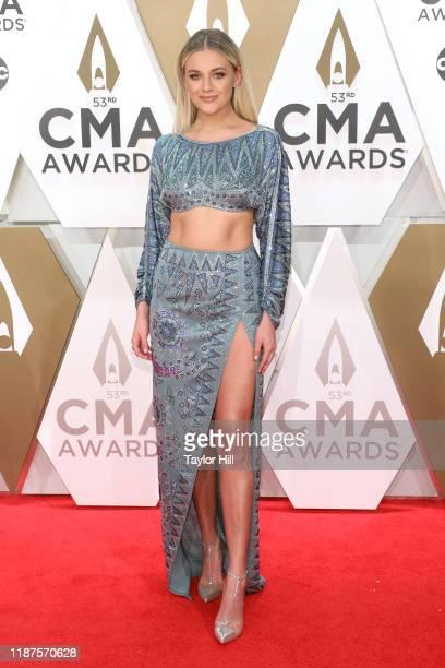 Kelsea Ballerini attends the 53nd annual CMA Awards at Bridgestone Arena on November 13 2019 in Nashville Tennessee