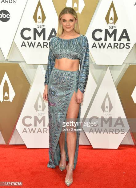 Kelsea Ballerini attends the 53rd annual CMA Awards at the Music City Center on November 13 2019 in Nashville Tennessee