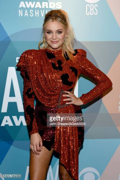 Kelsea Ballerini attends the 55th Academy of Country Music Awards at Ryman Auditorium on August 25, 2020 in Nashville, Tennessee. The ACM Awards airs...