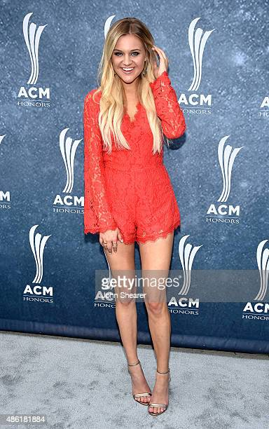 Kelsea Ballerini attends the 9th Annual ACM Honors at the Ryman Auditorium on September 1 2015 in Nashville Tennessee