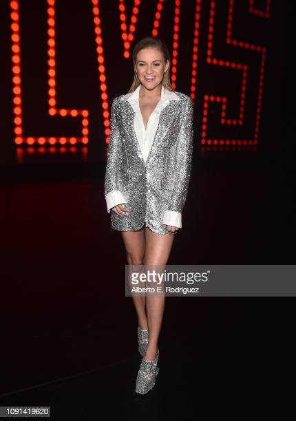 Kelsea Ballerini attends The Elvis '68 AllStar Tribute Speical at Universal Studios Hollywood on October 10 2018 in Universal City California