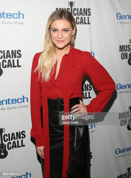 Kelsea Ballerini attends the Musicians On Call 5th Anniversary Celebration in Los Angeles Delivering The Healing Power of Music on February 28 2018...
