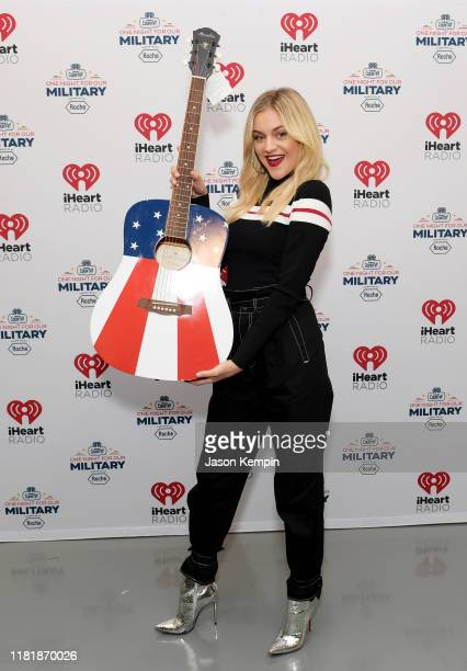Kelsea Ballerini backstage at the iHeartCountryOneNightForOurMilitary Presented by Rocheat the Country Music Hall of Fame on November 07 2019...
