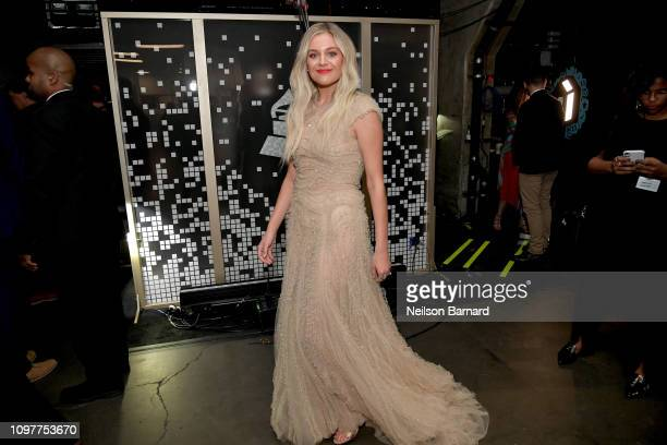Kelsea Ballerini backstage during the 61st Annual GRAMMY Awards at Staples Center on February 10 2019 in Los Angeles California