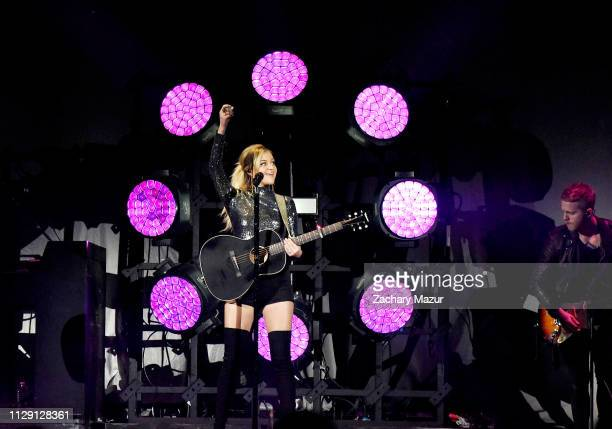 Kelsea Ballerini performs at Nassau Coliseum on March 7 2019 in Uniondale New York