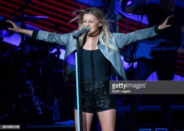 Kelsea Ballerini performs at the 995 WYCD Hoedown 2017 at DTE Energy Music Theater on June 30 2017 in Clarkston Michigan
