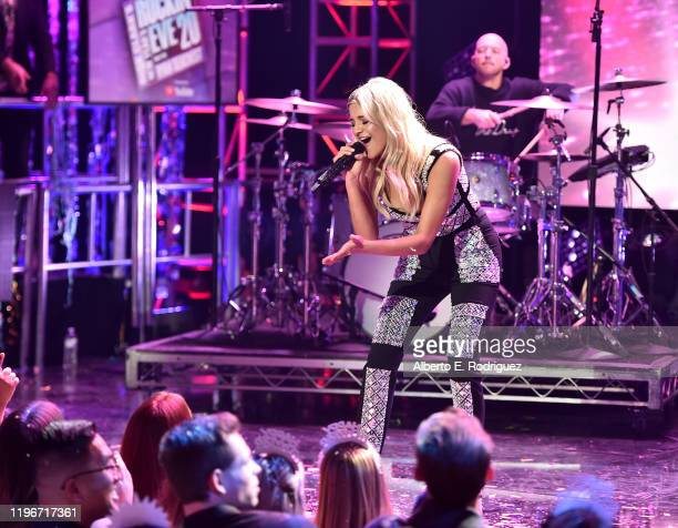 Kelsea Ballerini performs onstage during Dick Clark's New Year's Rockin' Eve with Ryan Seacrest 2020 Hollywood Party on November 23 2019 in Los...