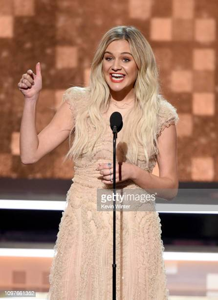 Kelsea Ballerini speaks onstage during the 61st Annual GRAMMY Awards at Staples Center on February 10 2019 in Los Angeles California