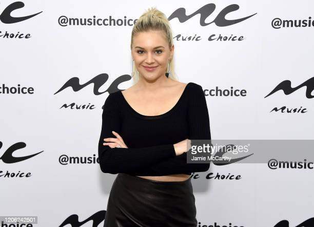 Kelsea Ballerini visits Music Choice at Music Choice on February 14 2020 in New York City