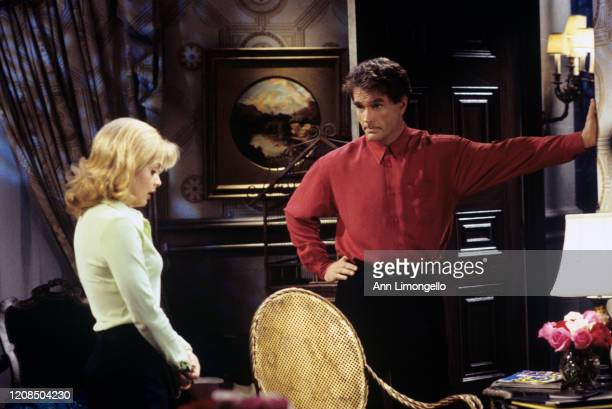 """Kelsey and Edmund in a scene on ABC Daytime's """"All My Children."""" """"All My Children"""" airs Monday-Friday on the ABC Television Network. AMC96 T.C...."""