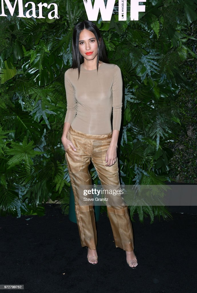 Kelsey Asbille attends Max Mara WIF Face Of The Future at Chateau Marmont on June 12, 2018 in Los Angeles, California.