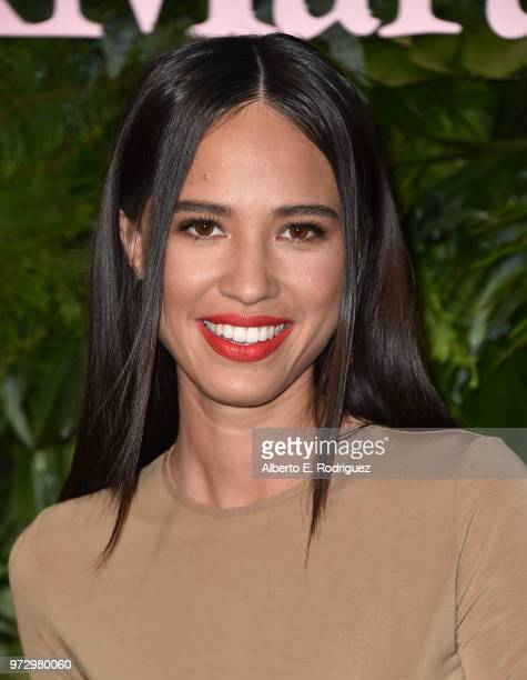 Kelsey Asbille attends Max Mara Women In Film Face of the Future at Chateau Marmont on June 12, 2018 in Los Angeles, California.