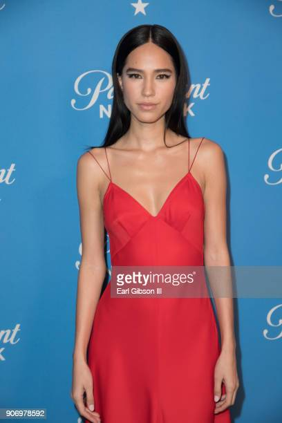 Kelsey Asbille attends Paramount Network Launch Party at Sunset Tower on January 18 2018 in Los Angeles California