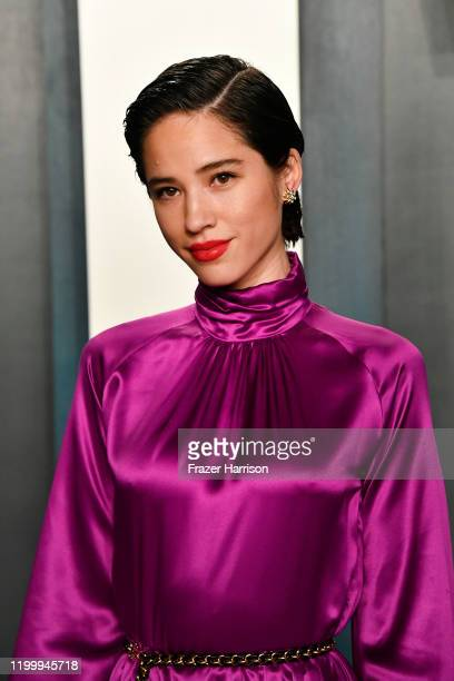 Kelsey Asbille attends the 2020 Vanity Fair Oscar Party hosted by Radhika Jones at Wallis Annenberg Center for the Performing Arts on February 09,...