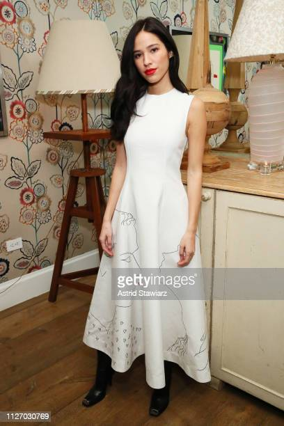 Kelsey Asbille attends the InStyle Badass Women Dinner Hosted By Taraji P Henson And Laura Brown on February 02 2019 in New York City