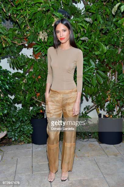 Kelsey Asbille attends the Max Mara Celebration for Alexandra Shipp 2018 Women In Film Max Mara Face Of The Future Award Recipient at Chateau Marmont...
