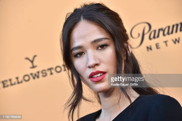 Kelsey Asbille attends the premiere party for Paramount Network's Yellowstone Season 2 at Lombardi House on May 30 2019 in Los Angeles California