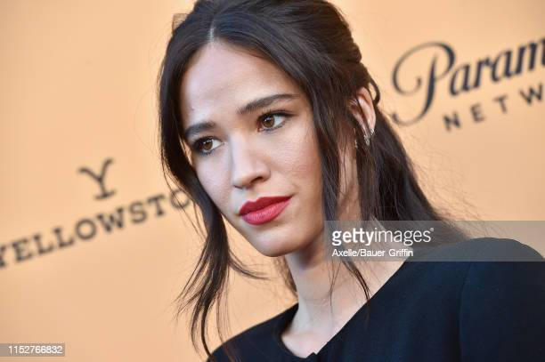"Kelsey Asbille attends the premiere party for Paramount Network's ""Yellowstone"" Season 2 at Lombardi House on May 30, 2019 in Los Angeles, California."