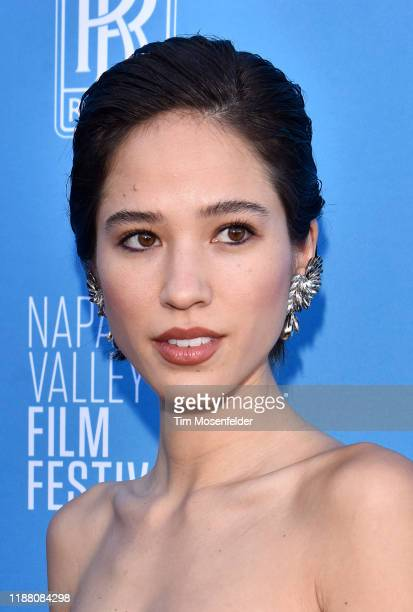Kelsey Asbille attends the Rising Star Showcase during the Napa Valley Film Festival at Materra Cunat Family Vineyards on November 16, 2019 in Napa,...