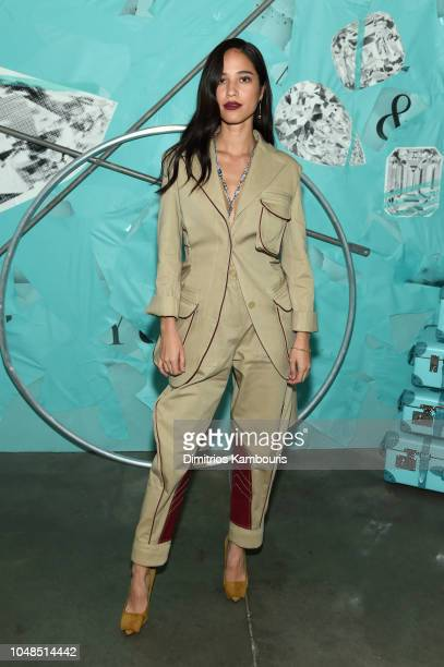 Kelsey Asbille attends Tiffany Co Celebrates 2018 Tiffany Blue Book Collection THE FOUR SEASONS OF TIFFANY at Studio 525 on October 9 2018 in New...