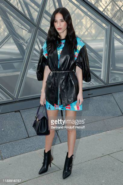 Kelsey Asbille Chow attends the Louis Vuitton show as part of the Paris Fashion Week Womenswear Fall/Winter 2019/2020 on March 05 2019 in Paris France