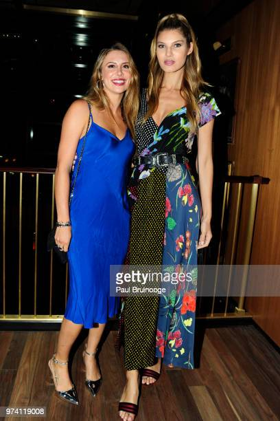 Kelsey Berenberg and Ashley Haas attend MarVista Entertainment And Parkside Pictures With The Cinema Society Host The After Party For 'The Year Of...