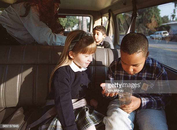 Kelsey Berglund 5 years– oldwas the first customer of Kids Kar a company which chauffeurs kids to/from home school and other things such as piano...