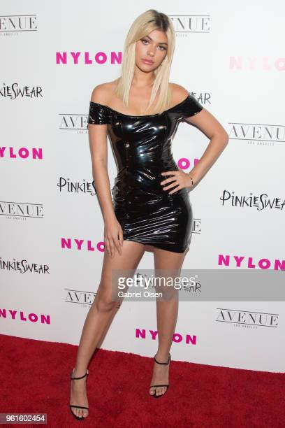 Kelsey Calemine arrives for NYLON Hosts Annual Young Hollywood Party at Avenue on May 22 2018 in Los Angeles California