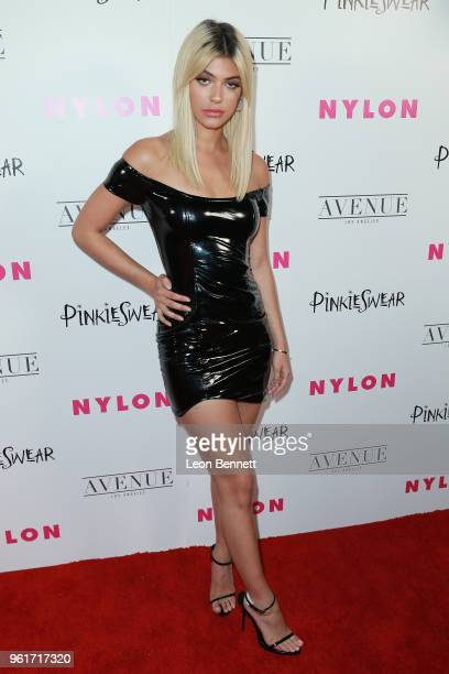 Kelsey Calemine attends NYLON Hosts Annual Young Hollywood Party at Avenue on May 22 2018 in Los Angeles California