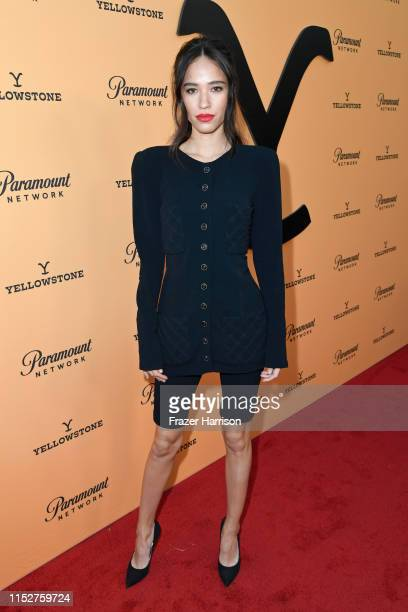 Kelsey Chow attends Paramount Network's Yellowstone Season 2 Premiere Party at Lombardi House on May 30 2019 in Los Angeles California