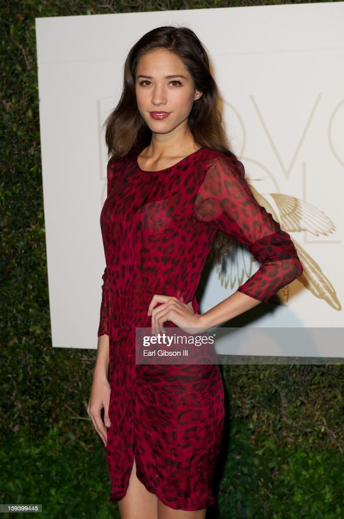 Kelsey Chow attends the LoveGold party at Chateau Marmont on January 12, 2013 in Los Angeles, California.