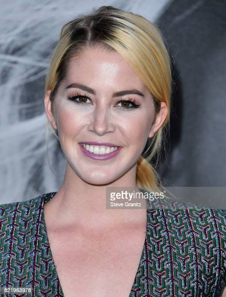 Kelsey Darragh arrives at the Premiere Of Focus Features' Atomic Blonde at The Theatre at Ace Hotel on July 24 2017 in Los Angeles California